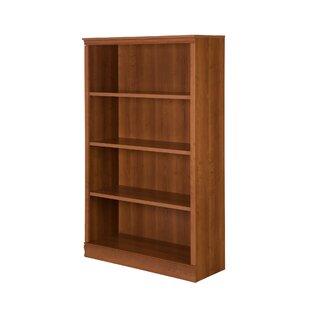 Morgan 4-Shelf Standard Bookcase Andover Mills