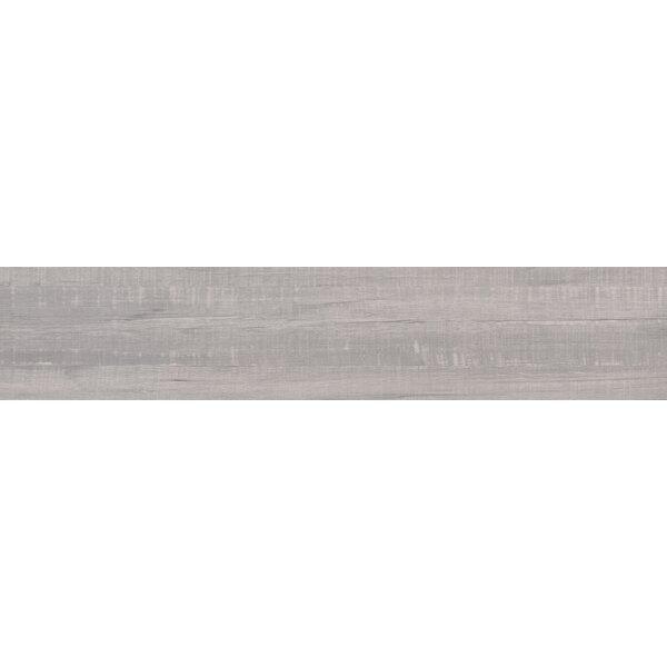 Belmond Pearl 8 x 40 Ceramic Wood Look Tile in White by MSI