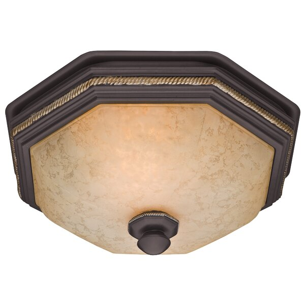 80 CFM Belle Bathroom Exhaust Fan with Light by Hunter Home Environment
