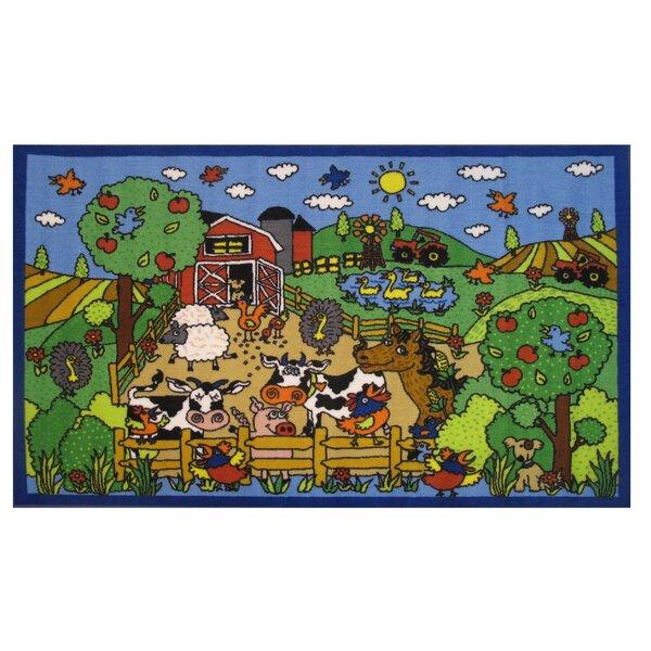 Fun Time Happy Farm Area Rug by Fun Rugs