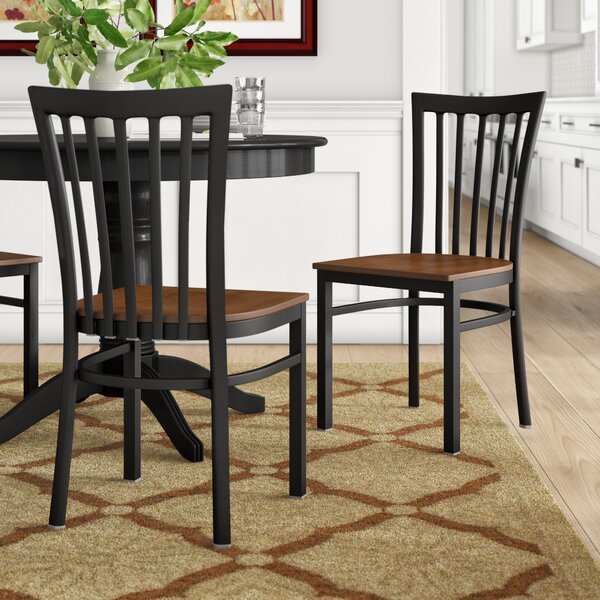Lyman Series School House Side Chair (Set of 2) by Andover Mills