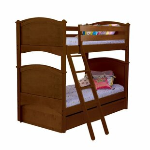 Bonneau Traditional Twin Bunk Bed By Harriet Bee