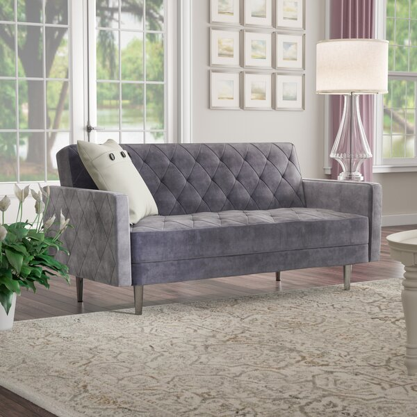 Daughtrey Convertible Loveseat by Darby Home Co