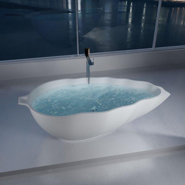76 x 76 Freestanding Soaking Bathtub by InFurniture