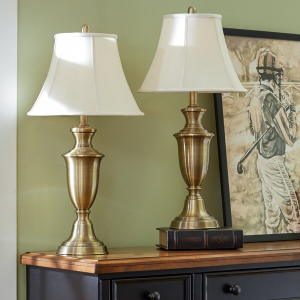 Rowan 30.5 Table Lamp Set (Set of 2) by Three Posts