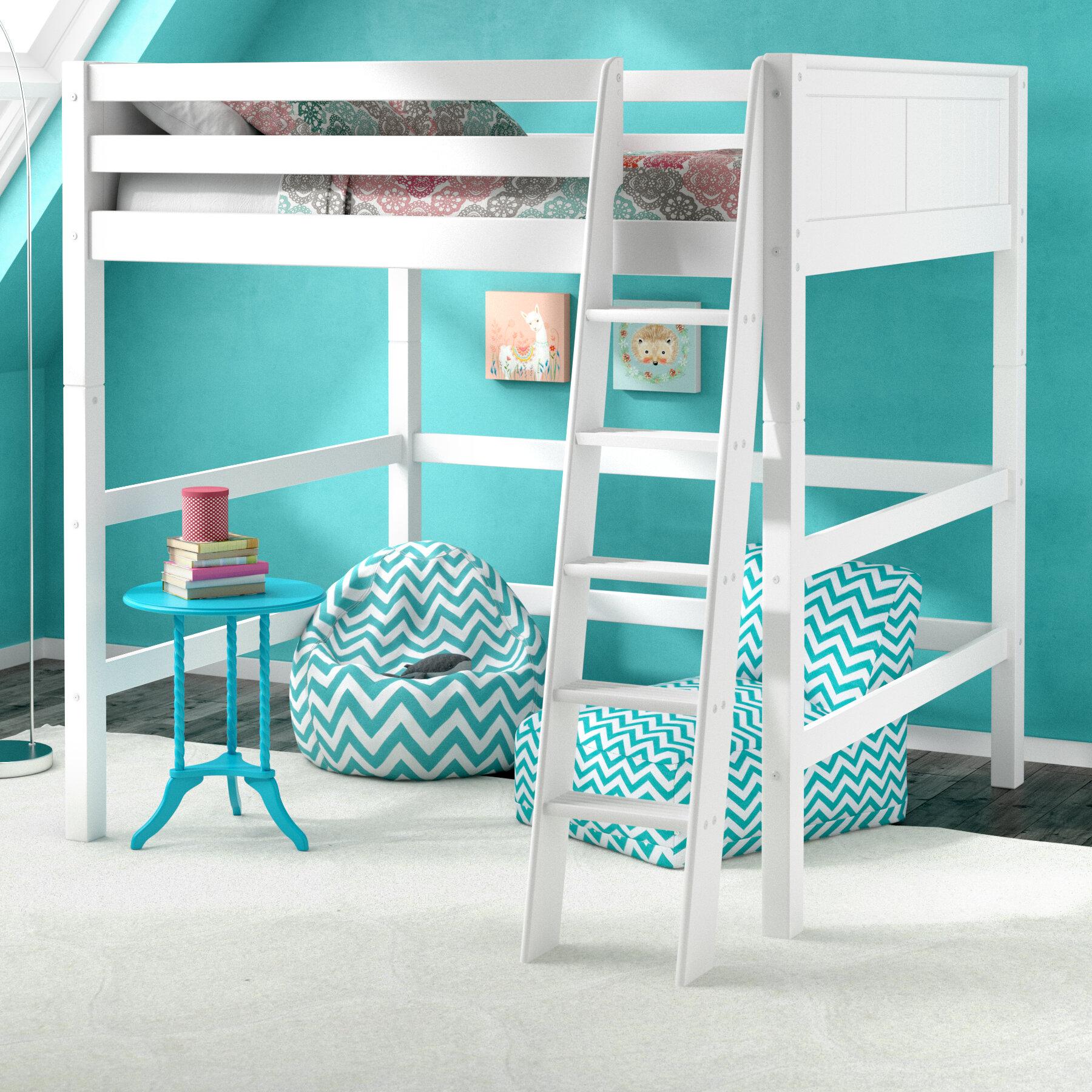 detailing f9c1d 50993 Caitlynn Full Loft Bed