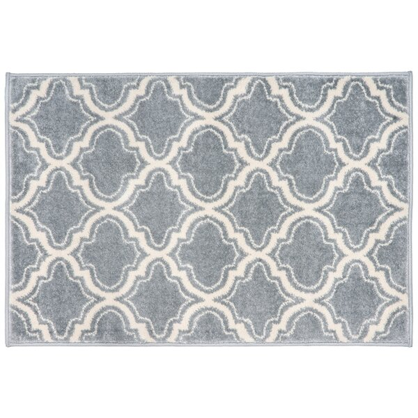 Strothers Design Gray Area Rug by Charlton Home