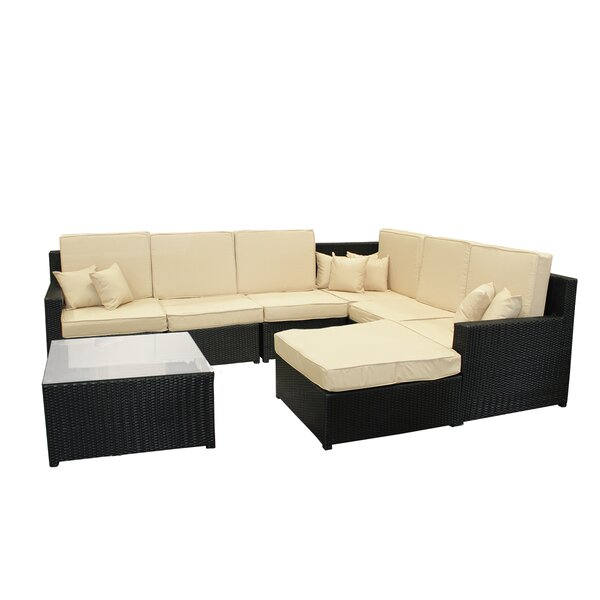 8 Piece Sectional Set with Cushions by Northlight Seasonal