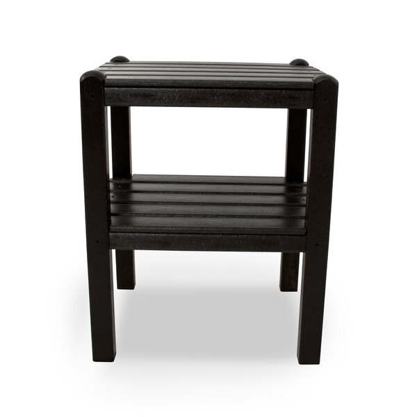 Two Shelf Plastic Side Table by POLYWOOD®