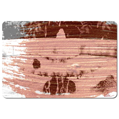 ZiZi Bird Bath Cork Placemat Ebern Designs