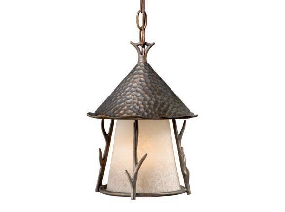 Pomonok 1-Light Outdoor Pendant by Loon Peak