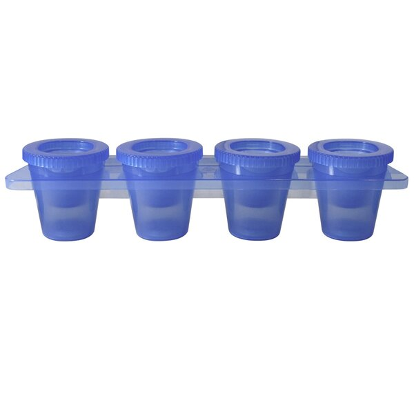 5 Piece Plastic Shooter Glass Set by Epicureanist