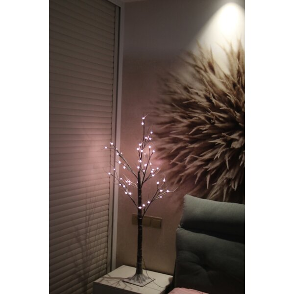 Warm Tree with 8 Functions 47 H Indoor/Outdoor Lamp by The Holiday Aisle