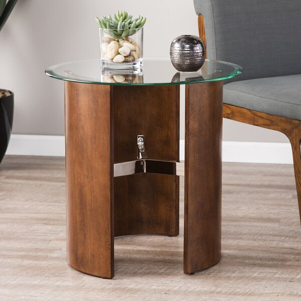 Matheus Round End Table by Latitude Run