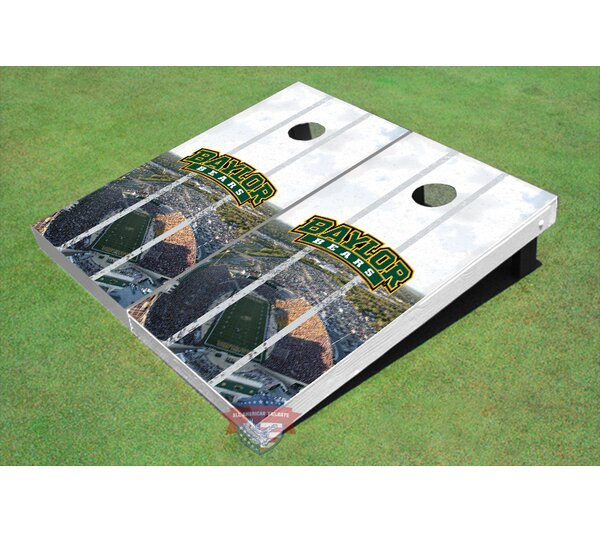 NCAA Stadium Long Strip Cornhole Board (Set of 2) by All American Tailgate