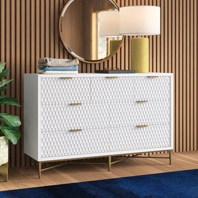 Allmodernlylah 7 Drawer Double Dresser Color Bright White Dailymail