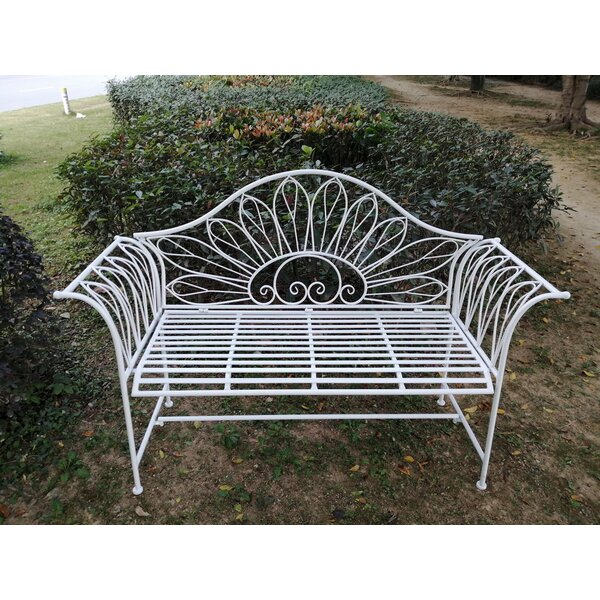 Severson Metal Garden Bench by August Grove