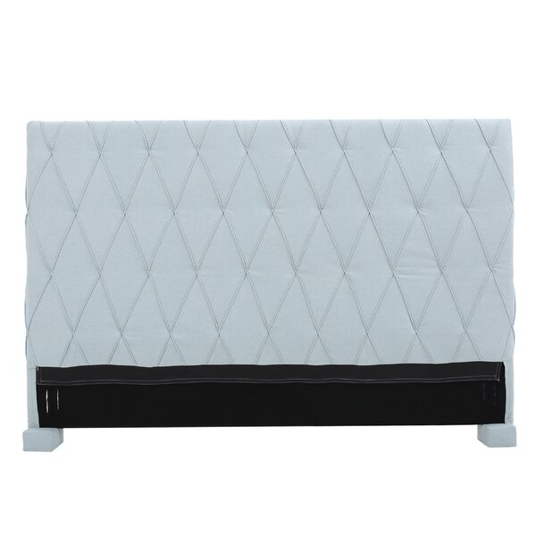 Greenlawn King Upholstered Panel Headboard by Darby Home Co