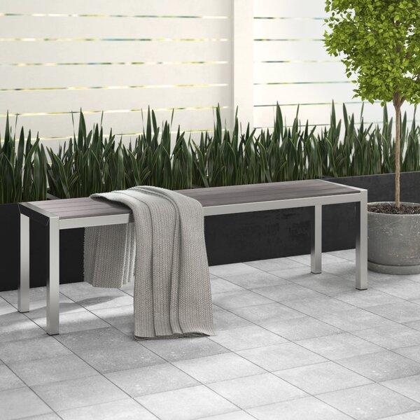 Montiel Aluminum Picnic Bench by Brayden Studio Brayden Studio