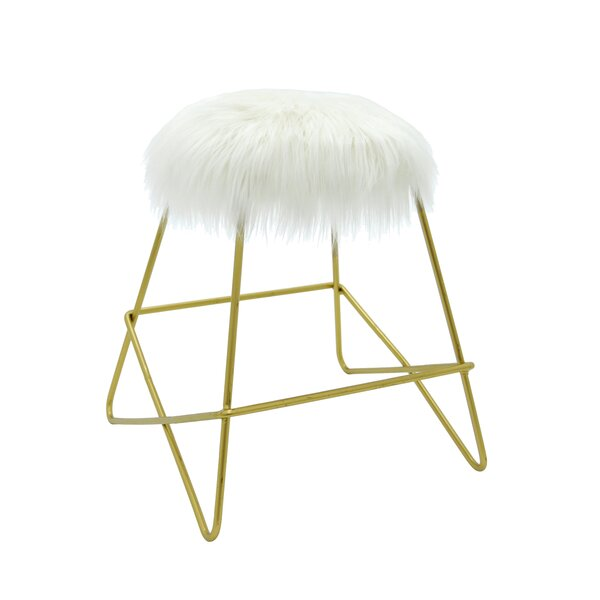 Lyla Accent Stool by Everly Quinn