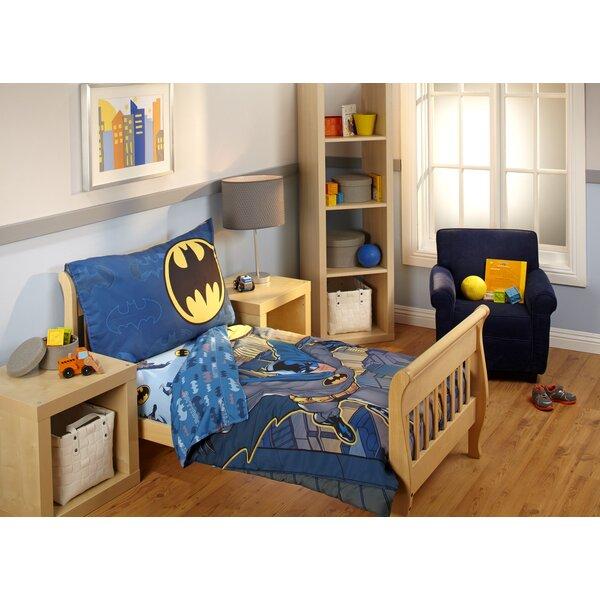 4 Piece Toddler Bedding Set by Batman