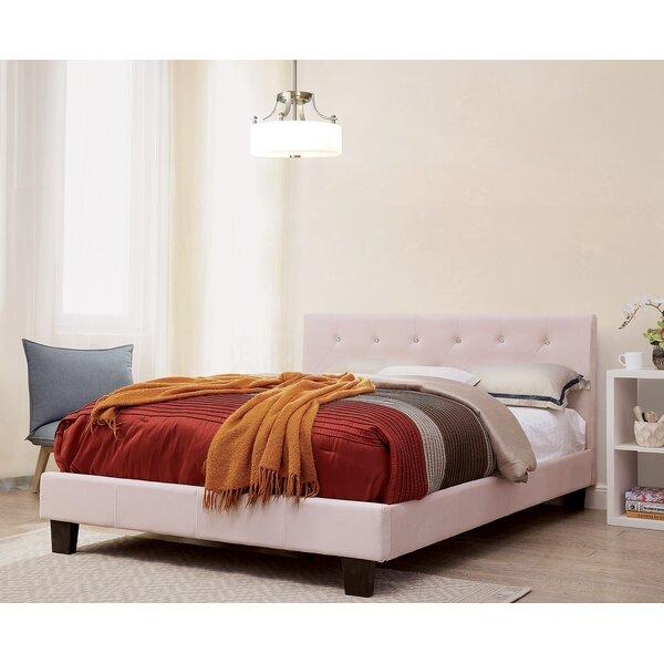 Iberia Upholstered Platform Bed by Brayden Studio