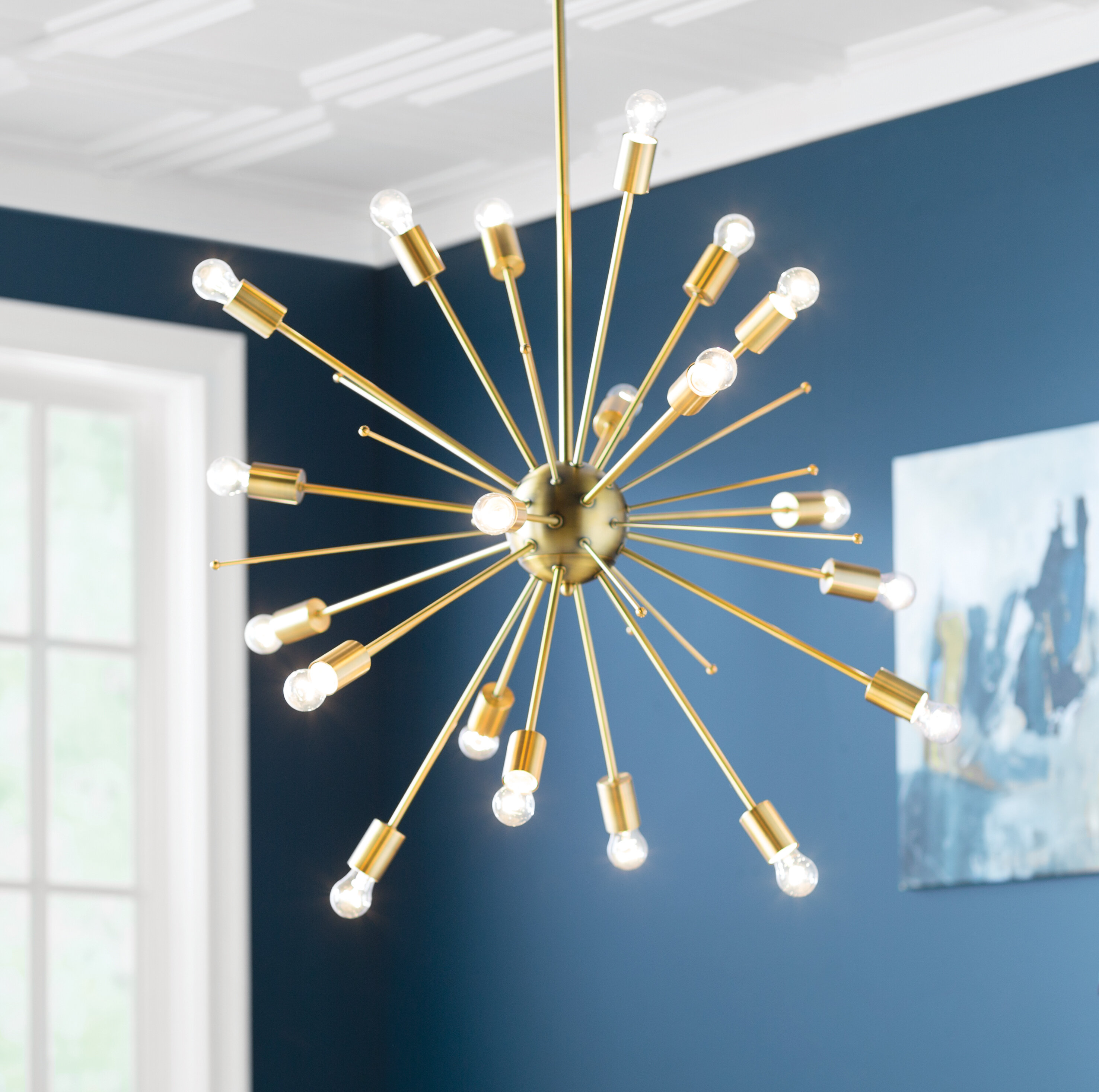 Gold Sputnik Chandeliers You ll Love