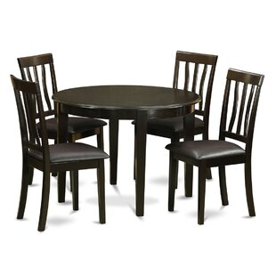 Boston 5 Piece Dining Set ByWooden Importers