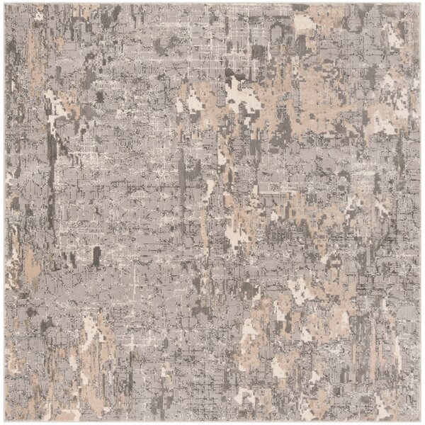 Edvin Gray Area Rug by Williston Forge