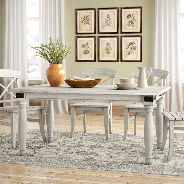 Sid Extendable Dining Table by Birch Lane Heritage Birch Lane™ Heritage