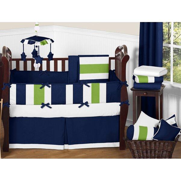 Stripe 9 Piece Crib Bedding Set by Sweet Jojo Designs
