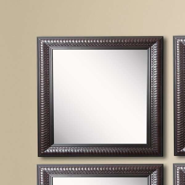 Kimzey Royal Curve Beveled Wall Mirror (Set of 4) by Charlton Home