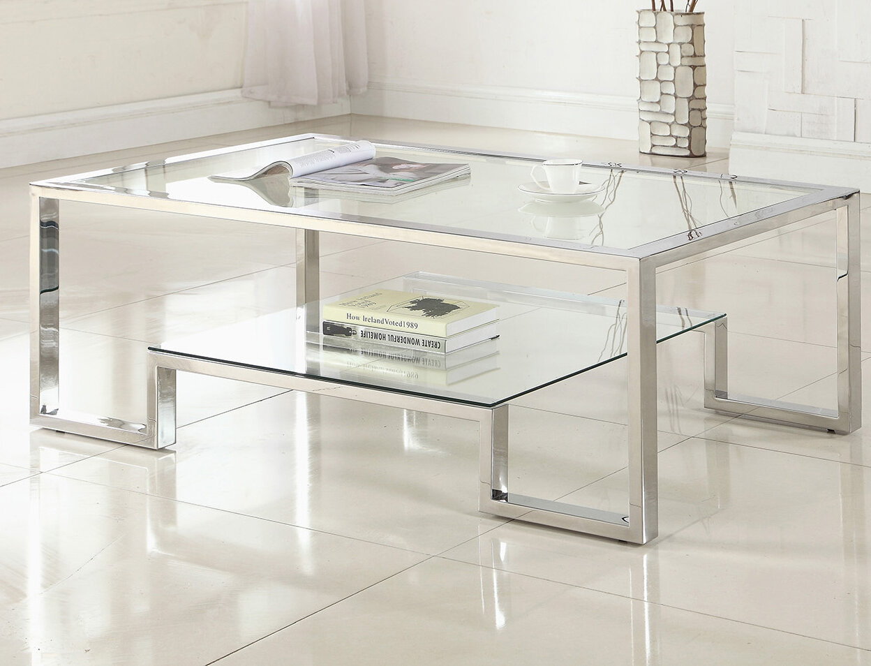 - Orren Ellis Mcauley Contemporary Coffee Table & Reviews Wayfair