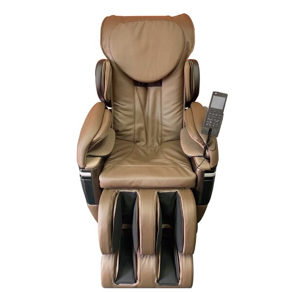 Review Reclining Adjustable Width Heated Full Body Massage Chair