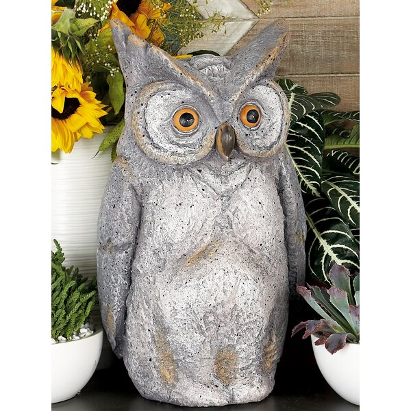 Dunmore Farmhouse Owl Figurine by August Grove