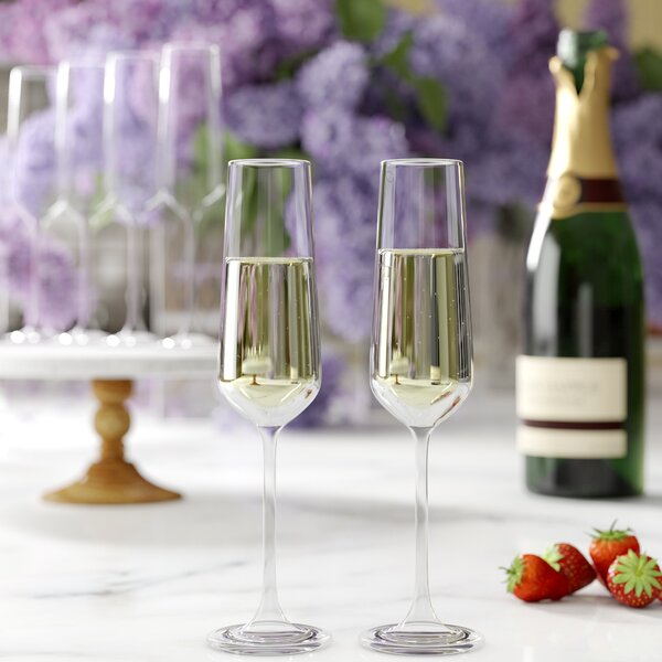 Downing Champagne Flutes Set Of 6 By Birch Lane.