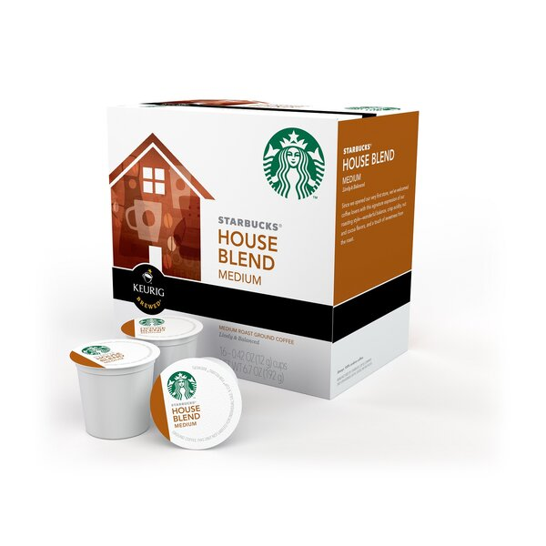 Starbucks House Blend K-Cup (Pack of 64) by Keurig