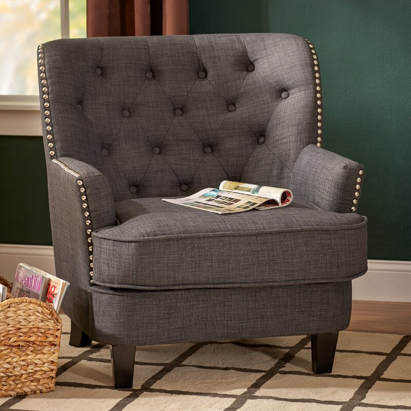 Three Posts Porter Tufted Armchair & Reviews | Wayfair