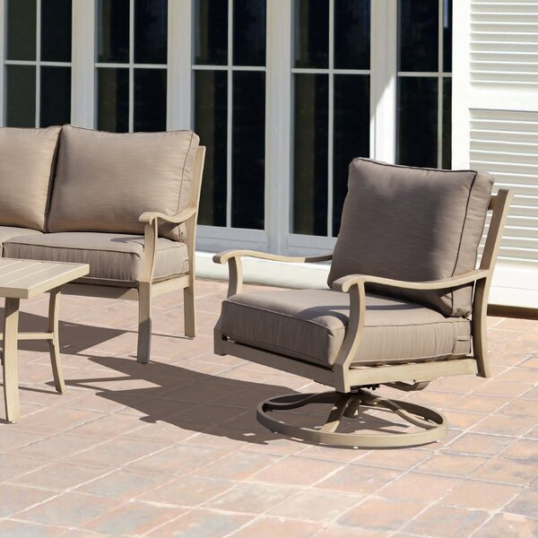 Caressa Patio Chair with Cushion by Darby Home Co