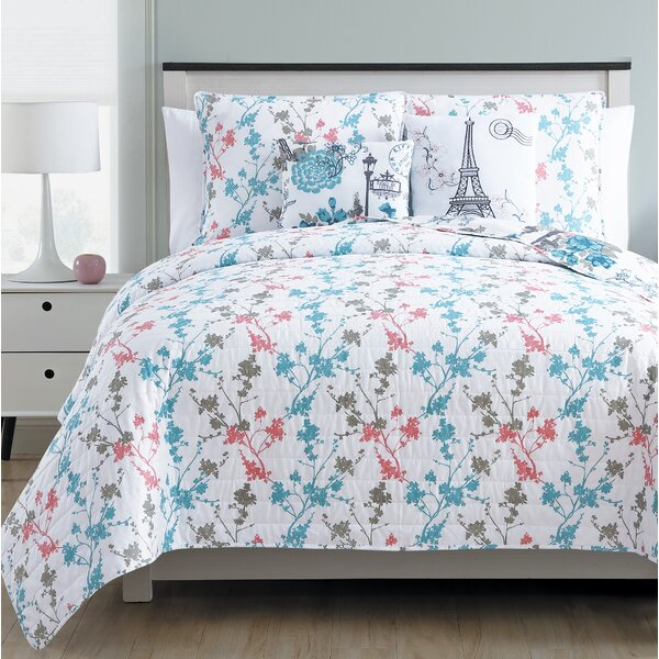 Huron Reversible 3 Piece Quilt Set by Ophelia & Co.