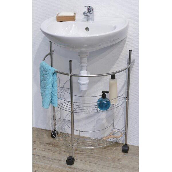 21.65 W x 26.38 H Bathroom Shelf by Evideco