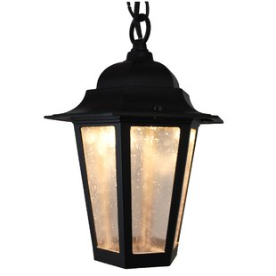 Deals Flannigan 1-Light Outdoor Hanging Lantern By Charlton Home