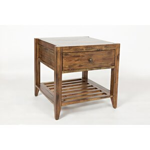 Athena End Table by Laurel Foundry Modern Fa..