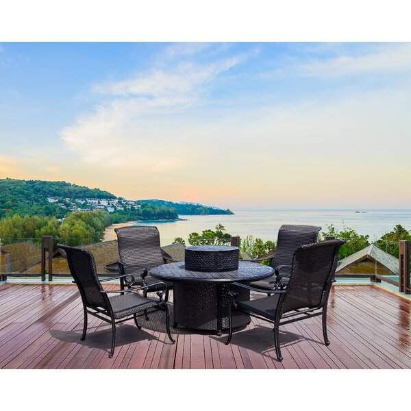 Hisham 6 Piece Multiple Chairs Seating Group by Winston Porter