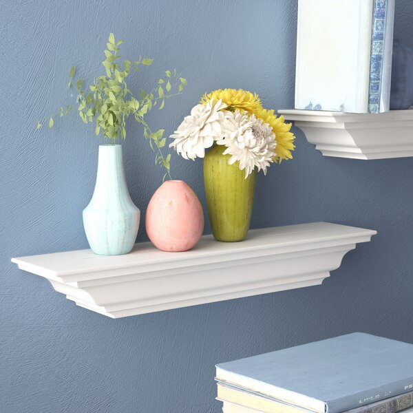 Androscogin Molding Wall Shelf by Red Barrel Studio