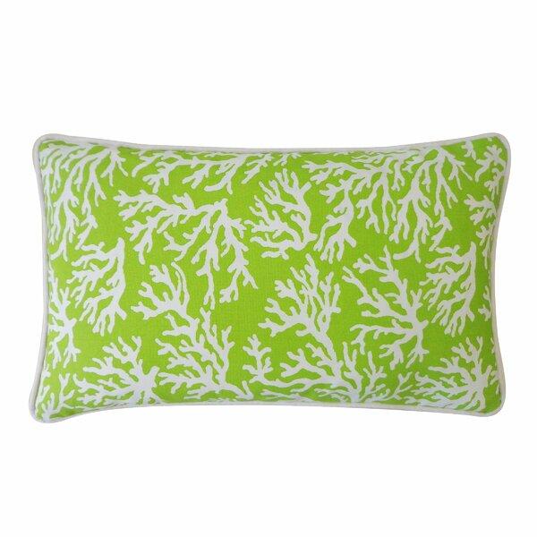 Coral Outdoor Lumbar Pillow by Jiti