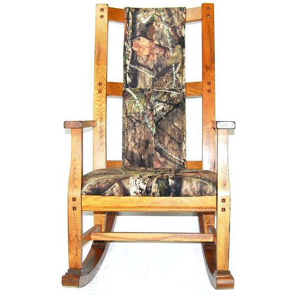 Fresno Rocking Chair by Loon Peak