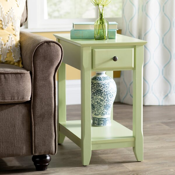 Hillyard End Table With Storage By Andover Mills