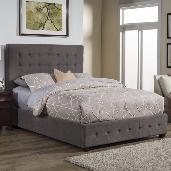Calveston Upholstered Platform Bed by Latitude Run