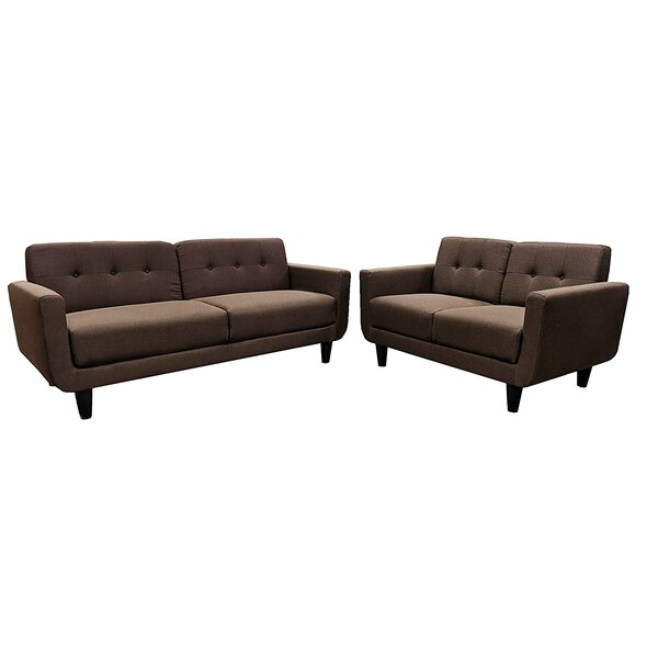 Perna 2 Piece Living Room Set by George Oliver